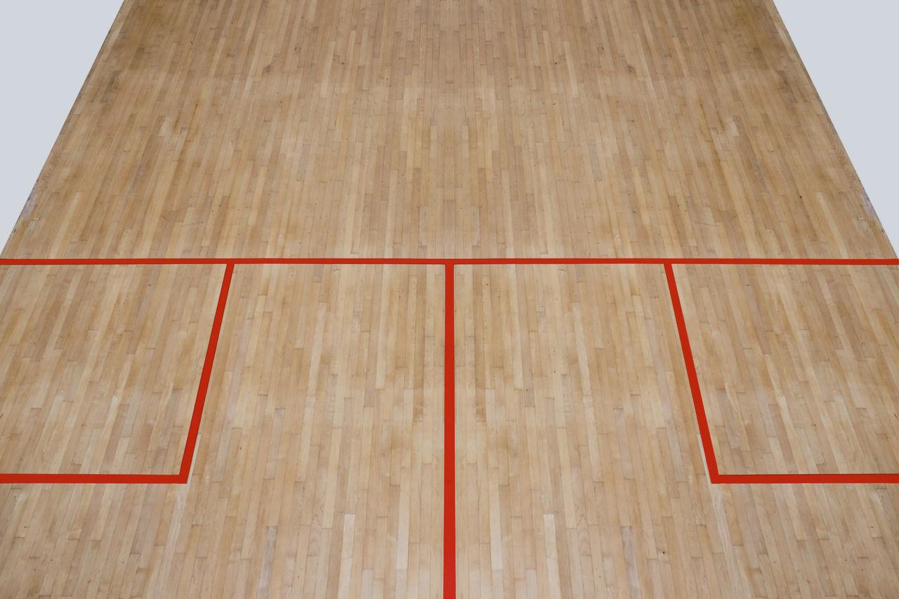 Basketball - Sport Court Floor Indoors  Minimalism Minimalist Minimalist Architecture No People Perspective Sport Wood - Material