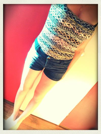 Summer Outfit Love This Shirt <3 After A Hard Work Day... Whats Up With The Hot Weather?