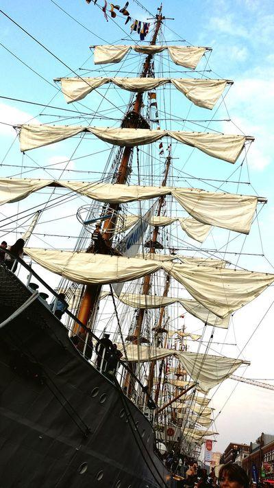 Sail Amsterdam 2015 Sailing Sail Ships Tallships Sail2015 Mast