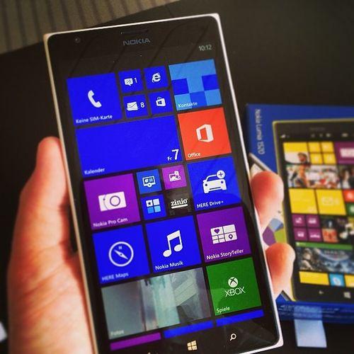 Ein Monster von einem Smartphone (oder eben Phablet) #NOKIA Ich bin gespannt wie ich mit dem klar komme.. #WindowsPhone #win8.1 #gadget #microsoft #smartphone #phablet #1520 Smartphone Nokia  Microsoft Gadget Phablet Windowsphone Win8 1520