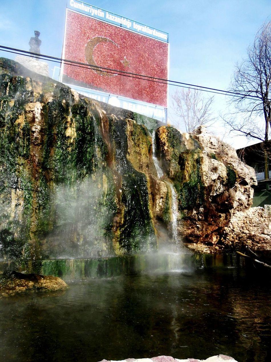 Turkish Flag Waterfall Antalyaturkey Samsung Smart Camera Eyemphotography Samsungphotography View Hot Water