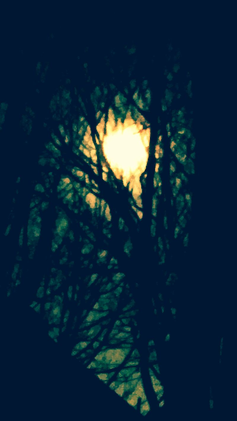 Gothicmoon Mypatio Tonight❤ Romanticvagueness Pourmesamies
