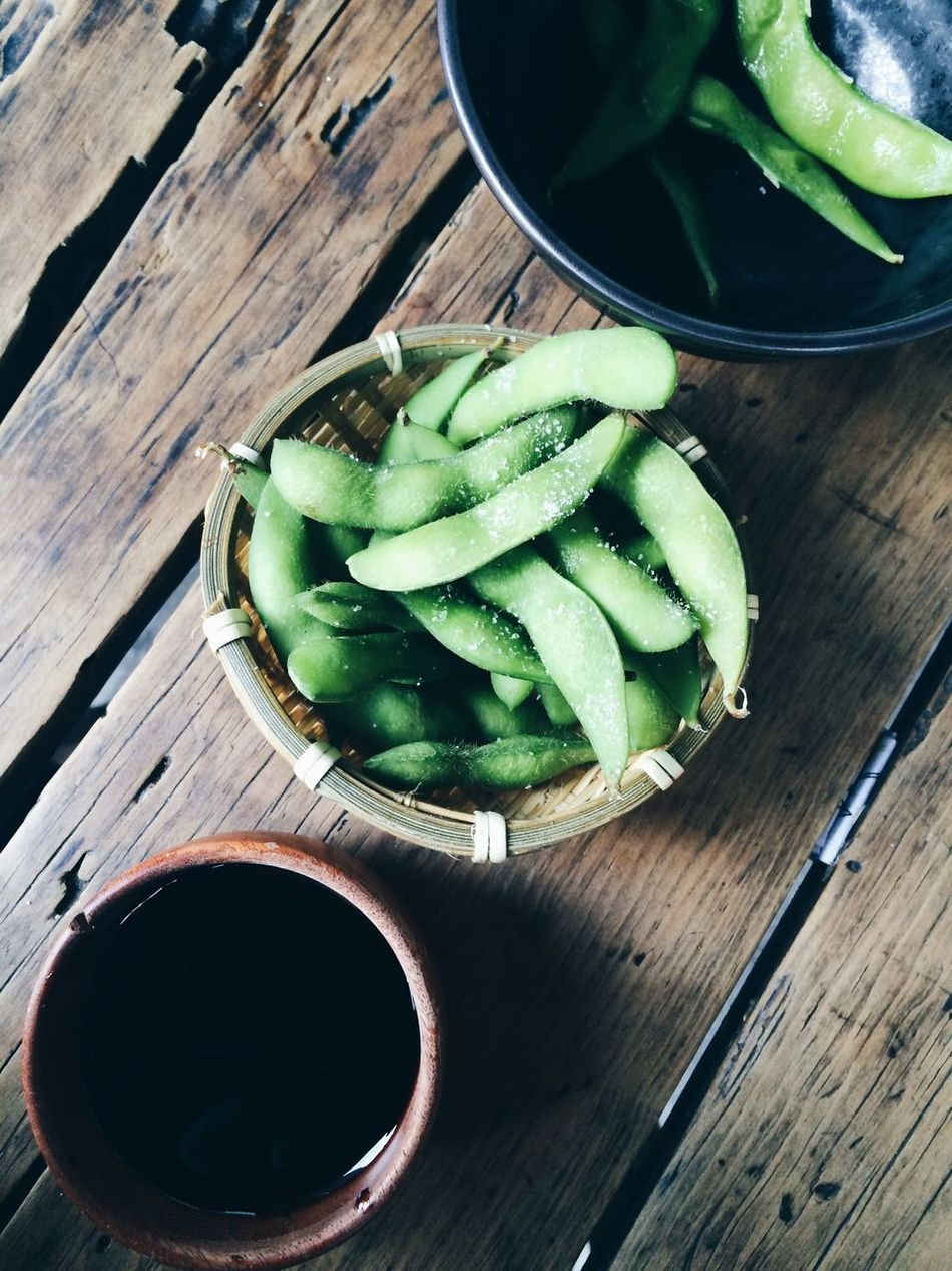 Beautiful stock photos of mexico, Bean, Broad Bean, Container, Directly Above
