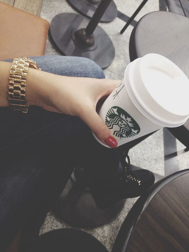Coffee Break Starbucks Coffee Relaxing Cappucino
