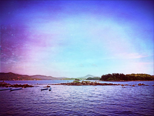 sea at Sai Kung 西貢 by Marco Yuen