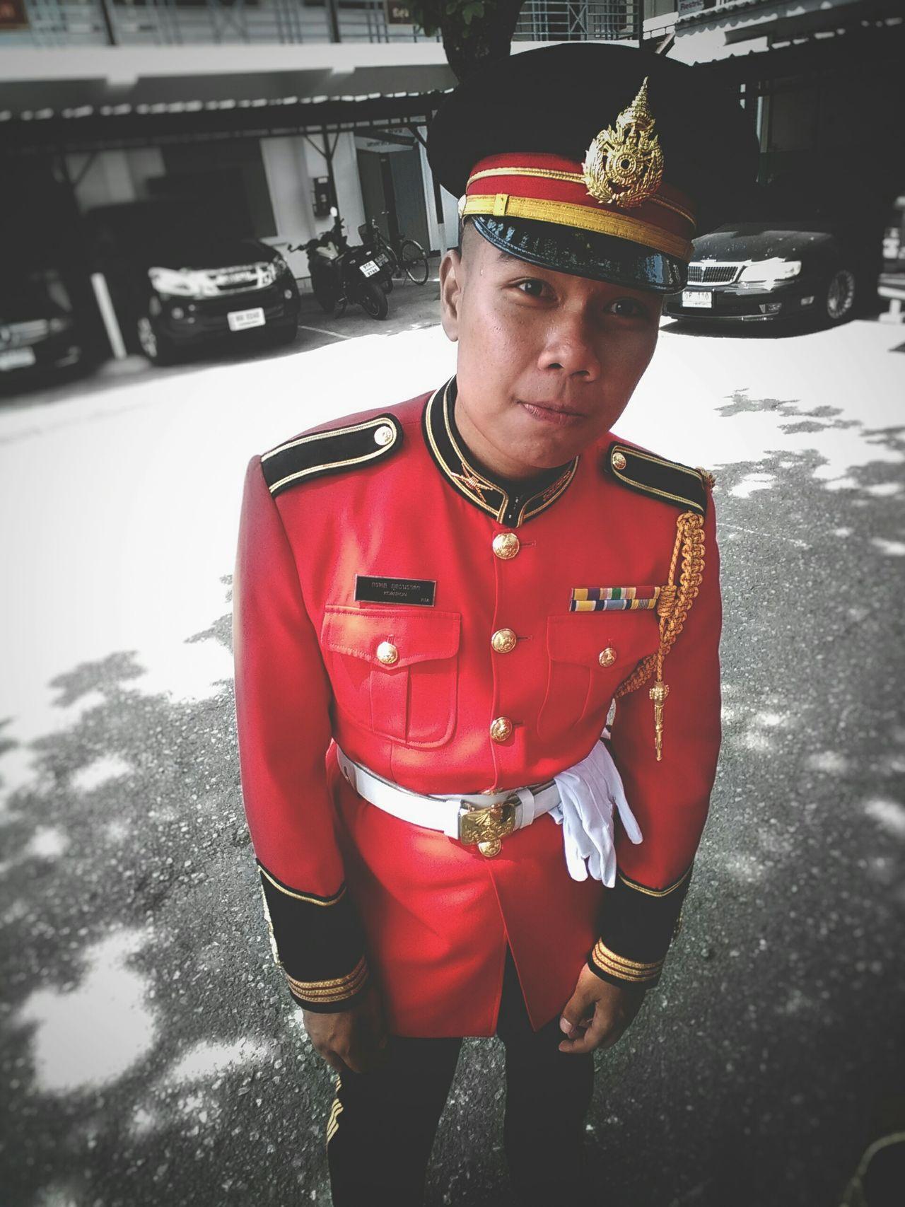 Me. 😄 Honor Gurad Infanty Goverment House Thailand_bkk