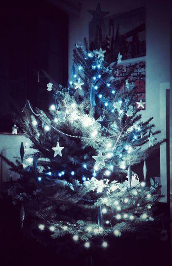 XmassLights Xmasstree Silver&blue Christmas Tree Christmas Decorations Christmas Lights Choinka Galosikphotigraphere GalosikFotografę