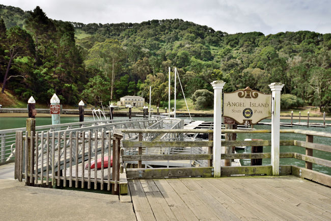 Angel Island 1 Ferry Pier Ayala Cove California State Park Conservancy California Historical Landmark History Includes Military Forts US Public Health Service Quarantine Station US Bureau Of Immigration Station Visitor Center Picnic Area Boat Dock Largest Natural Island San Francisco Bay 360° View San Francisco Skyline Marin Headlands Mount Talmalpais Landscape Landscape_Collection Landscape_photography