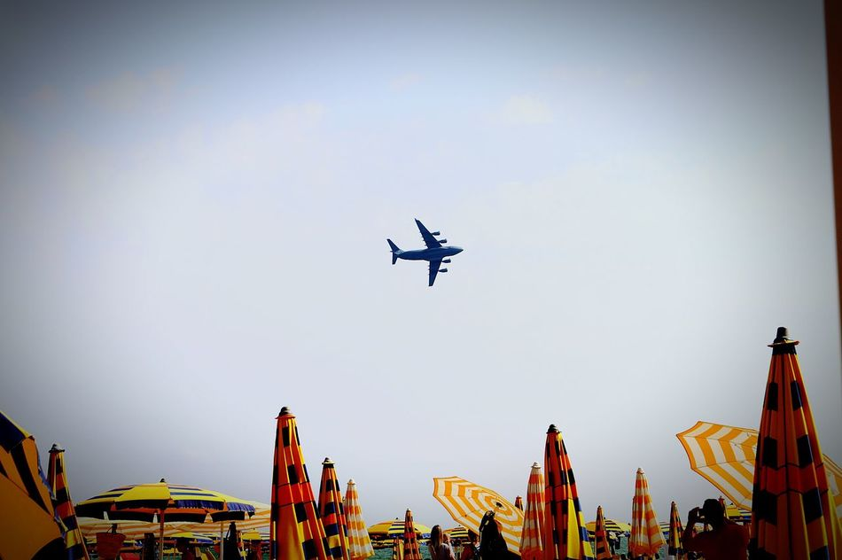 Flying Airplane Airshow Outdoors Air Force Day Military Sky Feel Great  Cool People Sunglasses Sun Strand Sand
