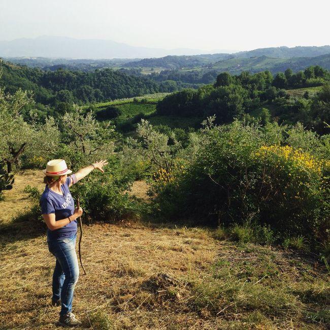 Great View Countryside Olevano Romano
