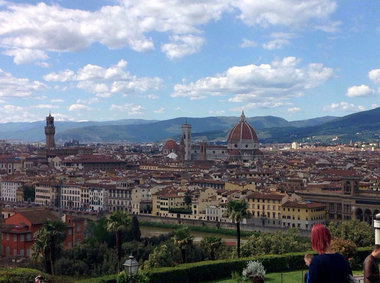 City Cityscape Architecture Travel Destinations Tourism Travel Building Exterior Tourist City Break Cultures Vacations Tower Urban Skyline Place Of Worship Built Structure Aerial View Dome Sky Cloud - Sky People Florence Italy Tourist Attraction  Tour