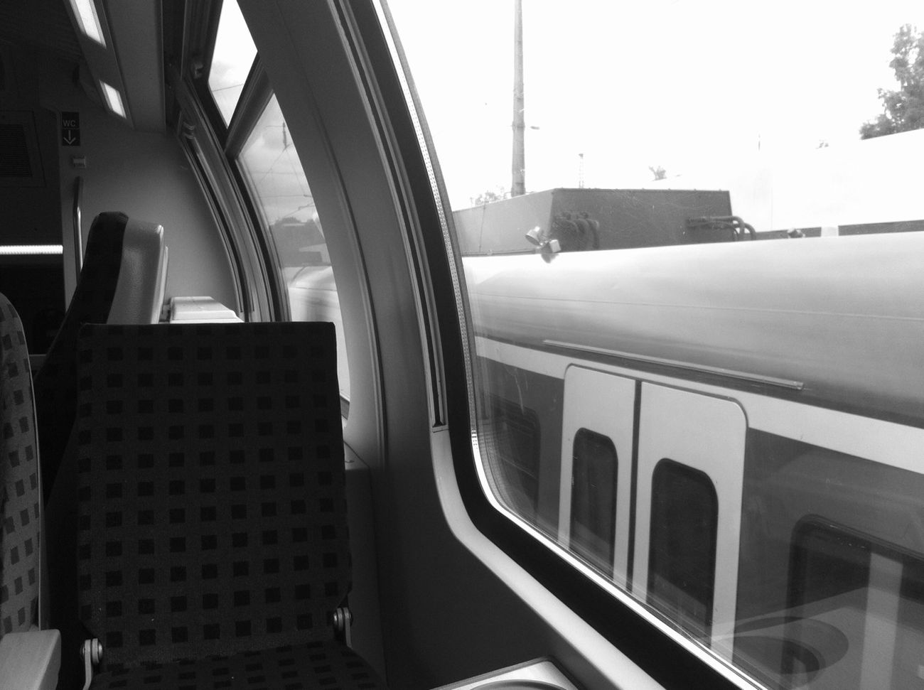 Trainride Blackandwhite Train Monochrome