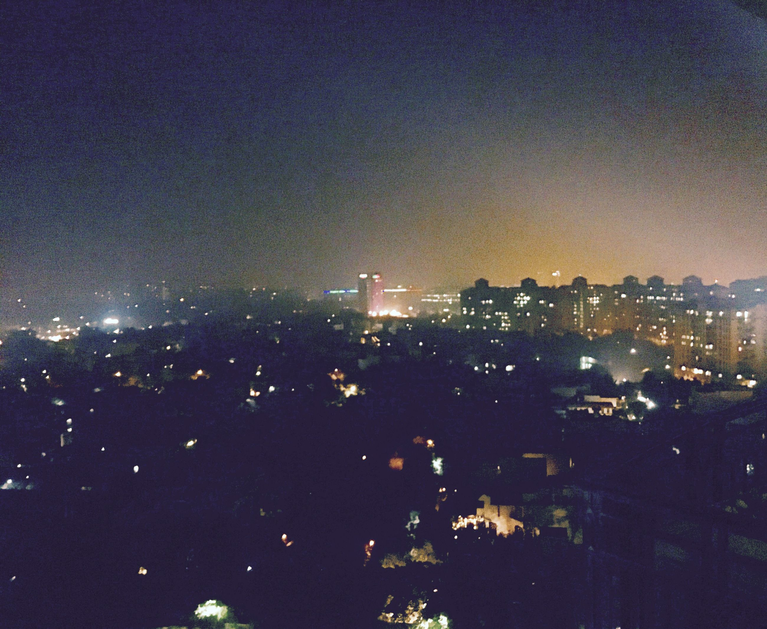 sky, night, city, illuminated, cityscape, no people, social issues, nature, building exterior, outdoors, urban skyline, beauty in nature, skyscraper, star - space, astronomy, galaxy