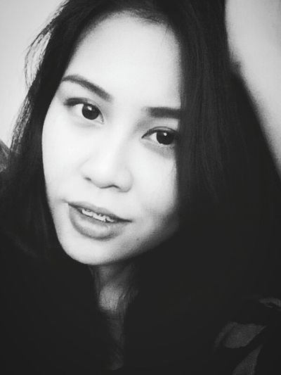 Hi! That's Me Black&white Selfie Look Into My Eyes...