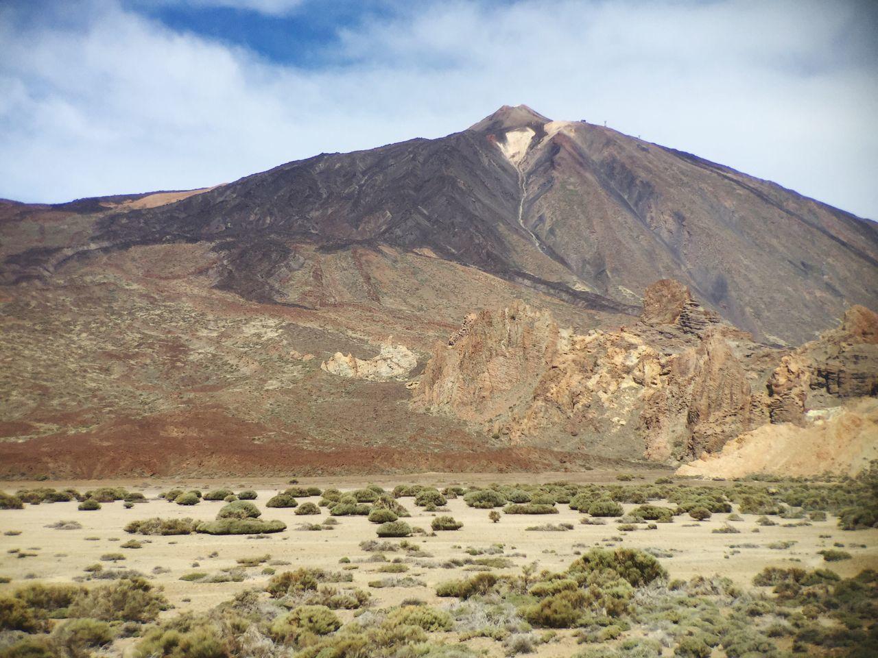 Parque Nacional Del Teide El Teide Tenerife Mountain Desert