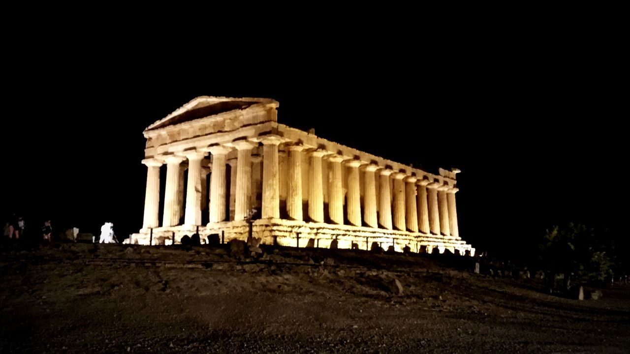 Tempio Travel Destinations Architecture Architectural Column Ancient Ancient Civilization Agrigento, Sicily Valle Dei Templi