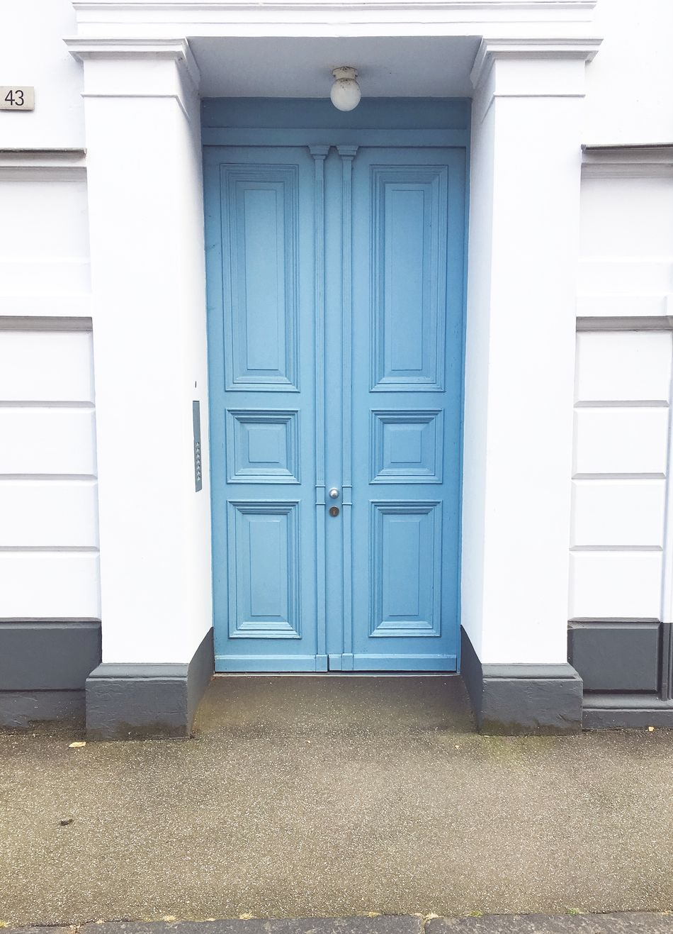 Blue Front Door Pastel Blue Light Blue Blue Wallcolor