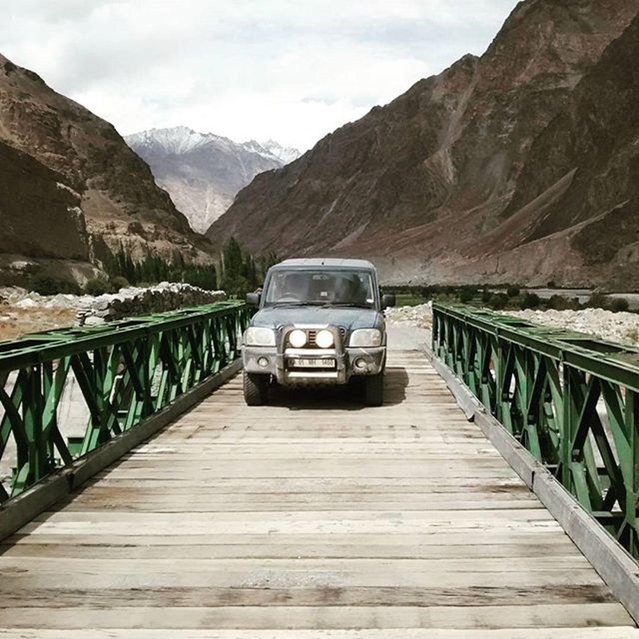 The beast! Mahindra Scorpio JammuandKashmir Kashmirdiaries Offroading