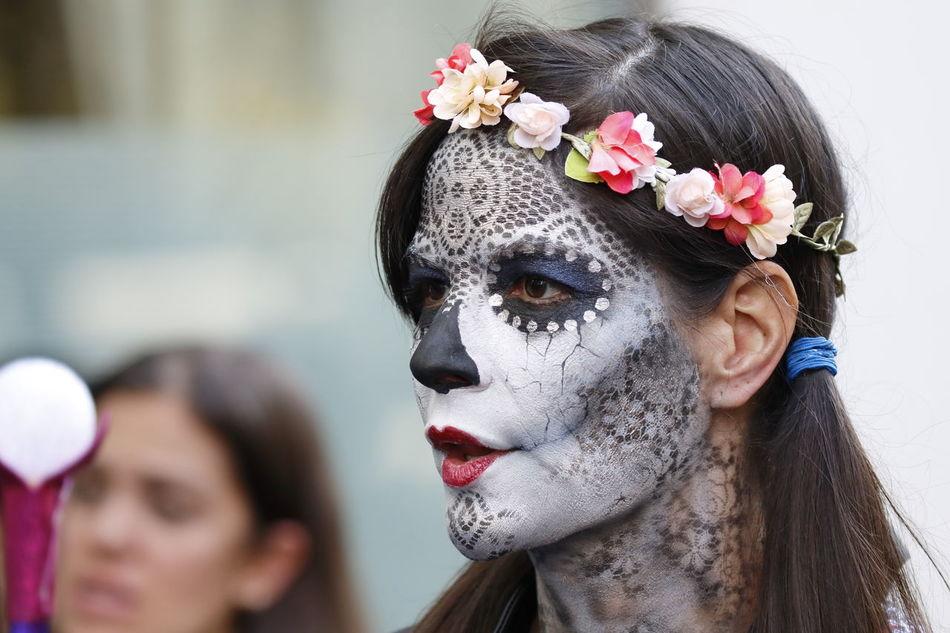 Costumes Culture And Tradition Cuture Dıa De Muertos Mexico Mexico City Parade Tradition Traditional Culture
