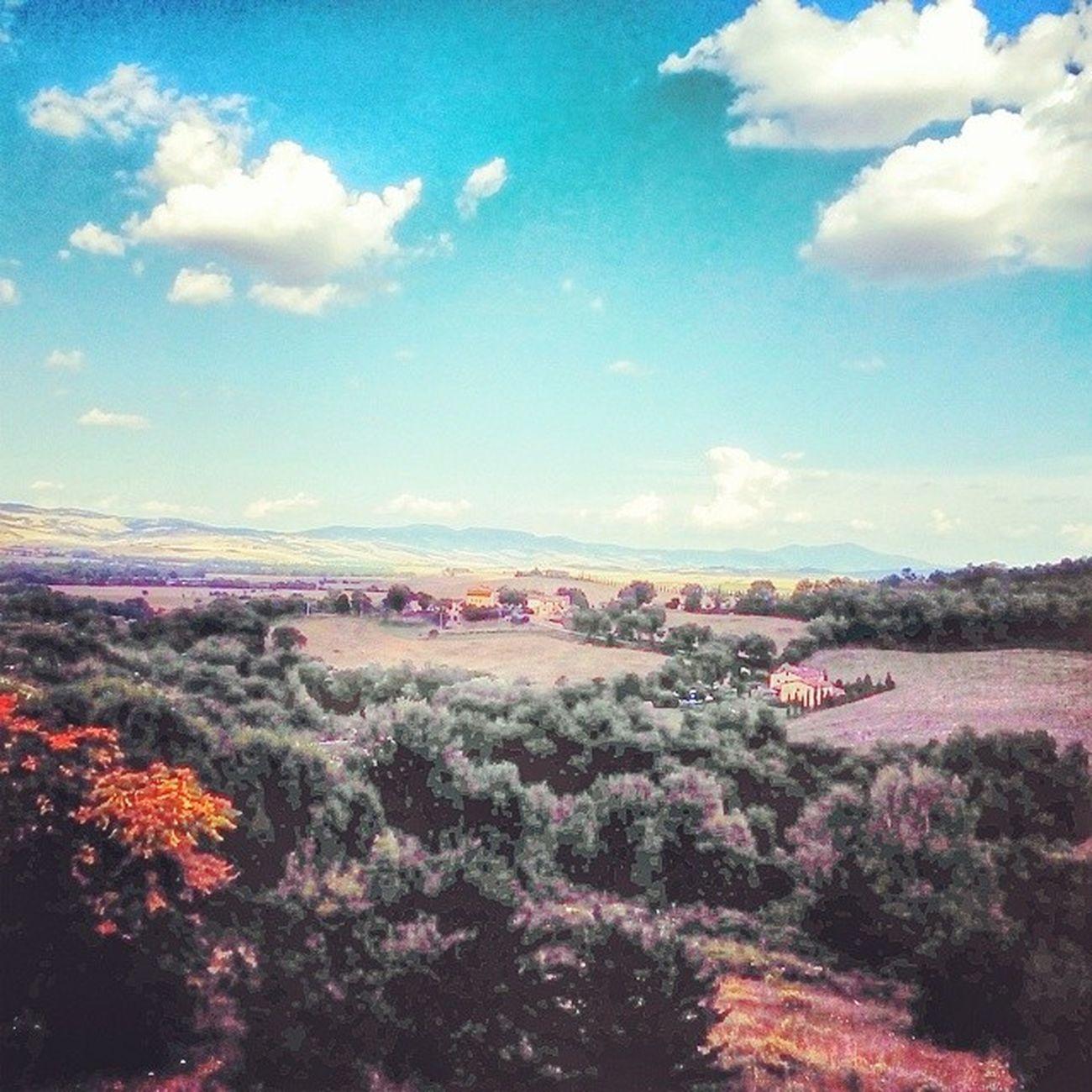 Ottava tappa: Bagnovignoni Toscana SmartFarm Pic panorama SkyLine