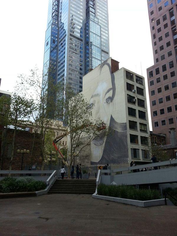 Rone Streetart Graffiti Skyscrapers
