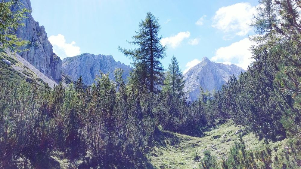 Karawanken Alps Austrian Alps Hiking Trail Hiking Mountains Mountain View Mountain