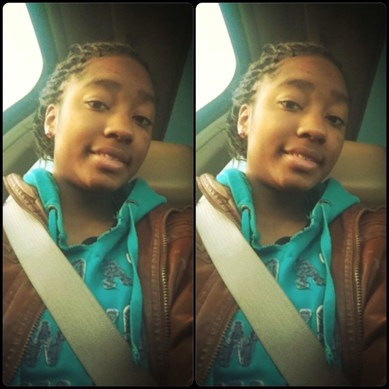 In The Car ..