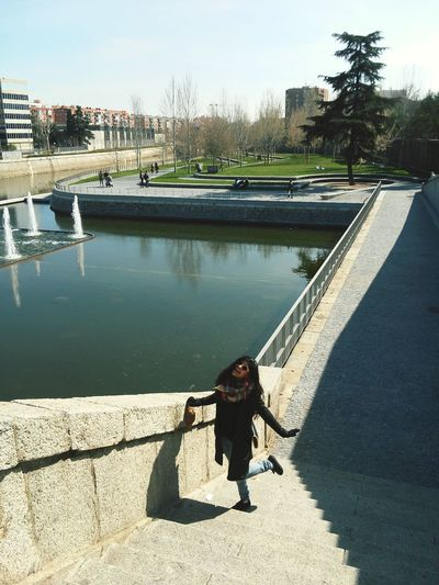 Madrid SPAIN Girl Winter