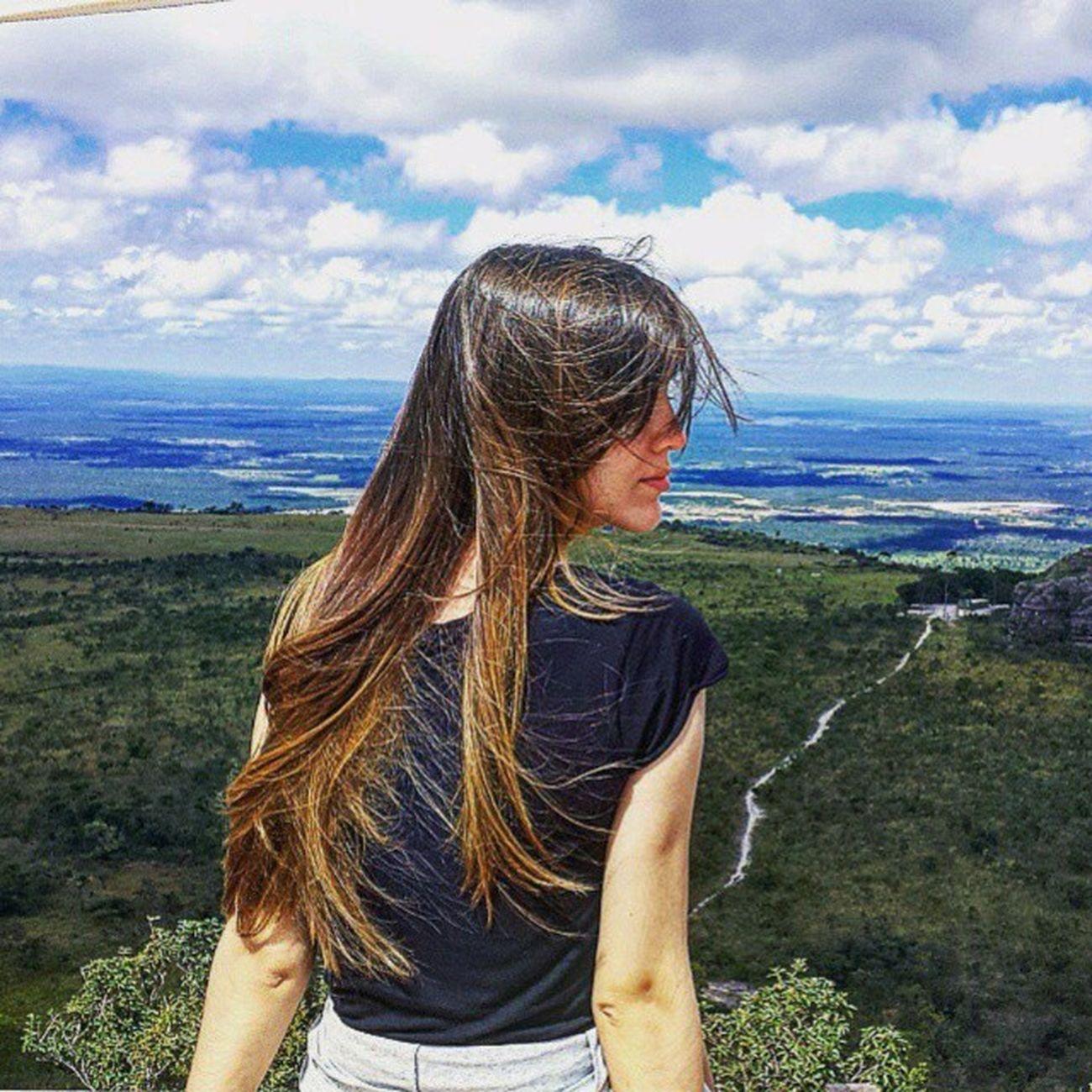 Alto do Céu/Chapada dos Guimarães 💙💚💙 . . Trilheirasdobrasil Ecoturismo VisitBrasil Viagem Loucosporviagens Naturelovers Aquiémt Matagrosso MeuMatoGrosso Vocenomundo Foto: @lu_poiani