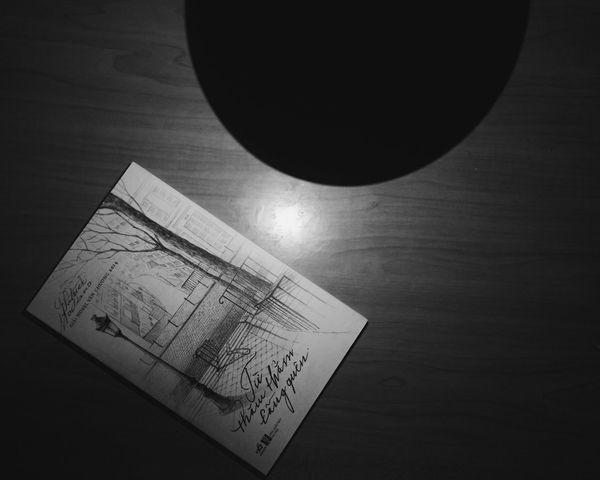 Reading Modiano. Relax Black & White Book Night