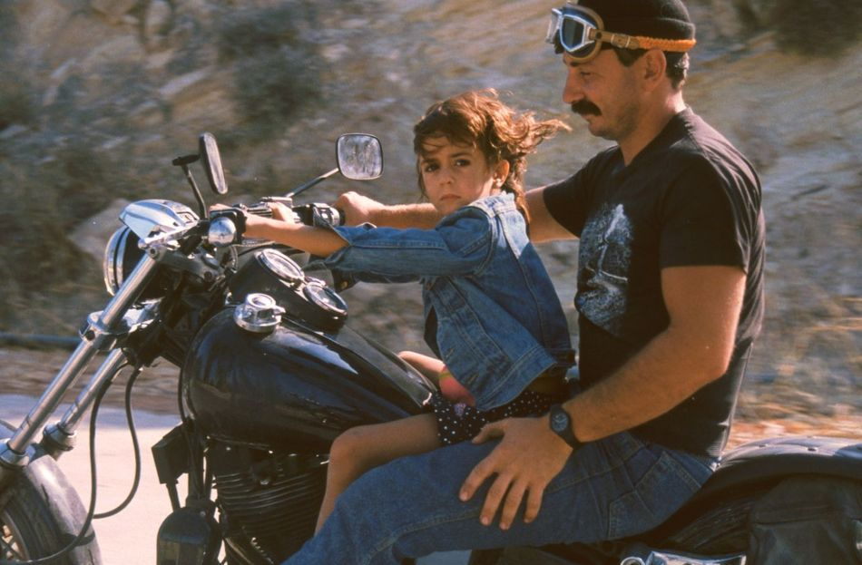 Early Beginnings Biker BikerGirl Bikeride Harley Davidson Men Motorcycle Ride Motorcycling No Helmet