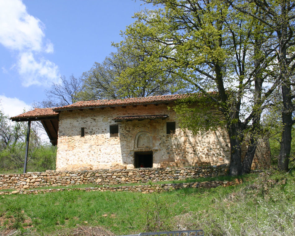 Architecture Building Exterior Byzantine Church Day Kurbinovo Macedonia Nature No People Ohrid Orthodox Church Outdoors Resen Skopje Sky St.george Tree Village