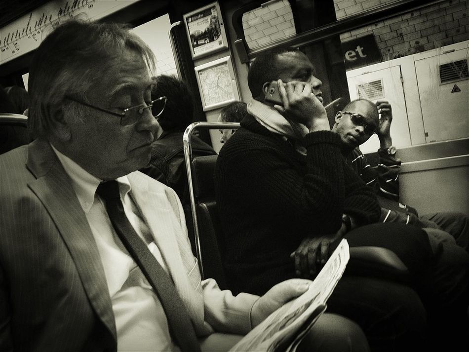 Subway Portraits EyeEm Best Shots - Black + White
