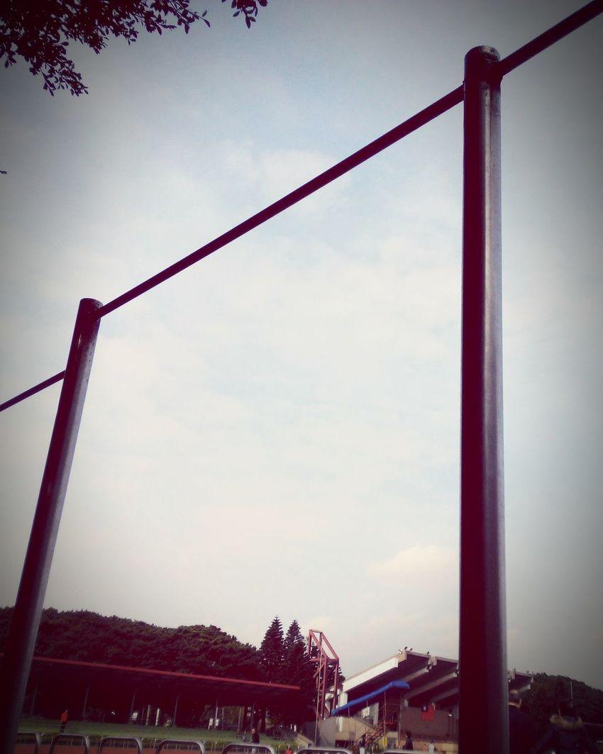 上槓 Sport Time Exercising Sunny Day