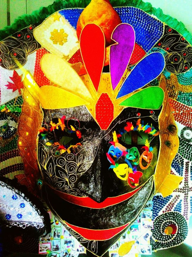 Close-up Multi Colored No People Celebration Arts Culture And Entertainment Mask Masskarafestival2016 Celebration Bacolod City Culture