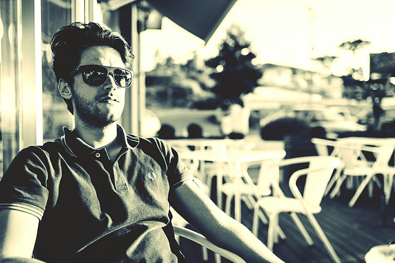 Casual Clothing Sunglasses Headshot Person Young Adult City Life Vacations Lifestyles Focus On Foreground Leisure Activity Handsome Front View First Eyeem Photo