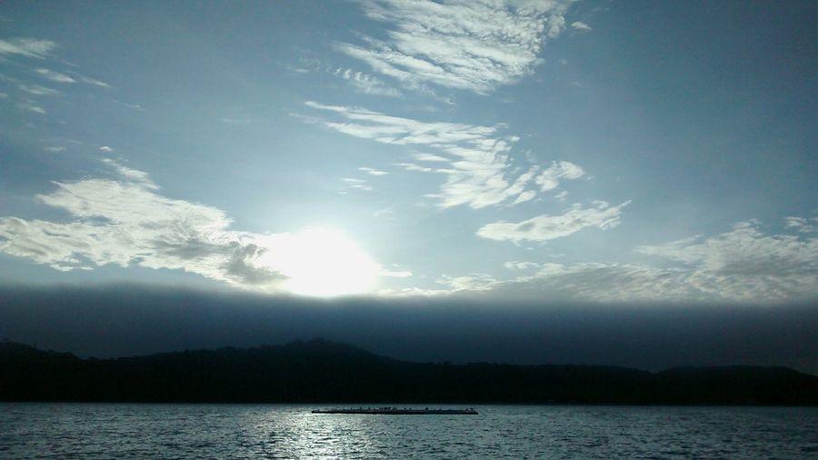 Clouds Sunrise Silhouette Travel Campeche Xpicob