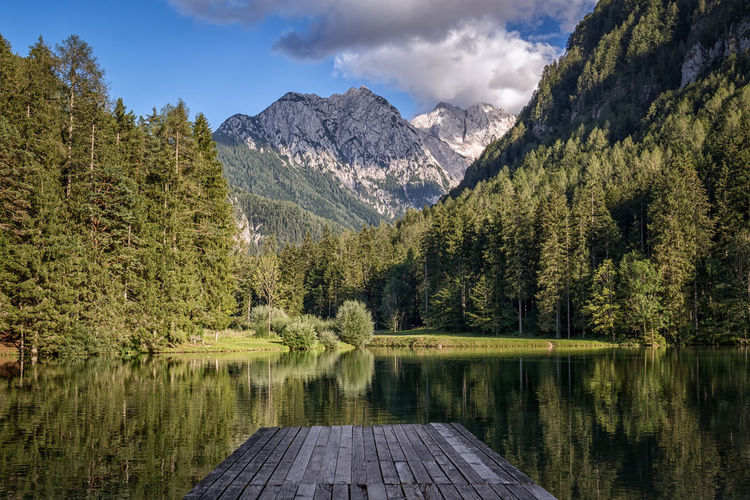 Jezersko, Slovenia Jezersko Slovenia IfeelsLOVEnia Eye4photography  EyeEm Best Shots - Landscape Lake EyeEm Nature Lover Mountains Landscape Mountains Scenic Outdoors Water Trees Forest Peaceful Landscapes With WhiteWall Reflection Water Reflections