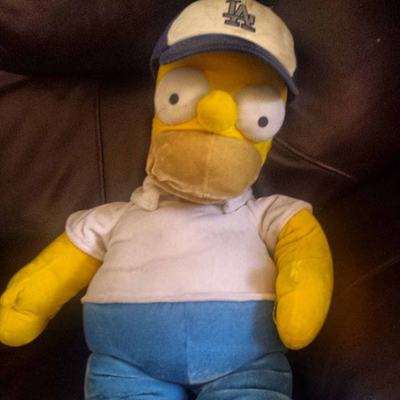 The newest player for the Dodgers, Homer Simpson!! Dodgers TheSimpsons Thesimpsonsmarathon Homersimpson la