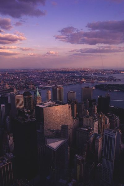 Freedom view🌃🎆 NYC Freedom Tower One World Trade Center Ground Zero, NYC Freedom Skyscraper Sky City Life Aerial View Downtown District Happiness Flying The Architect - 2017 EyeEm Awards