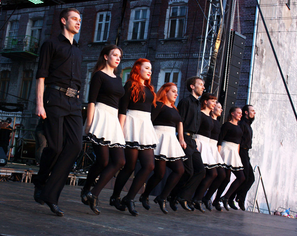 Architecture Building Exterior Built Structure Casual Clothing Confidence  Friendship Full Length Handsome Irish Irish Dance Team  Irish Dancers  Leisure Activity Lifestyles Love Outdoors Person Togetherness Well-dressed Young Adult Young Men