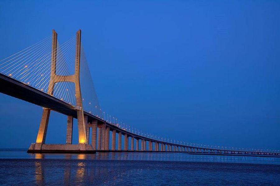 Vasco Da Gama Bridge | Lisbon, Portugal Travel Lisbon Portugal Vascodagama Mycanon Canon 5dMarkⅡ