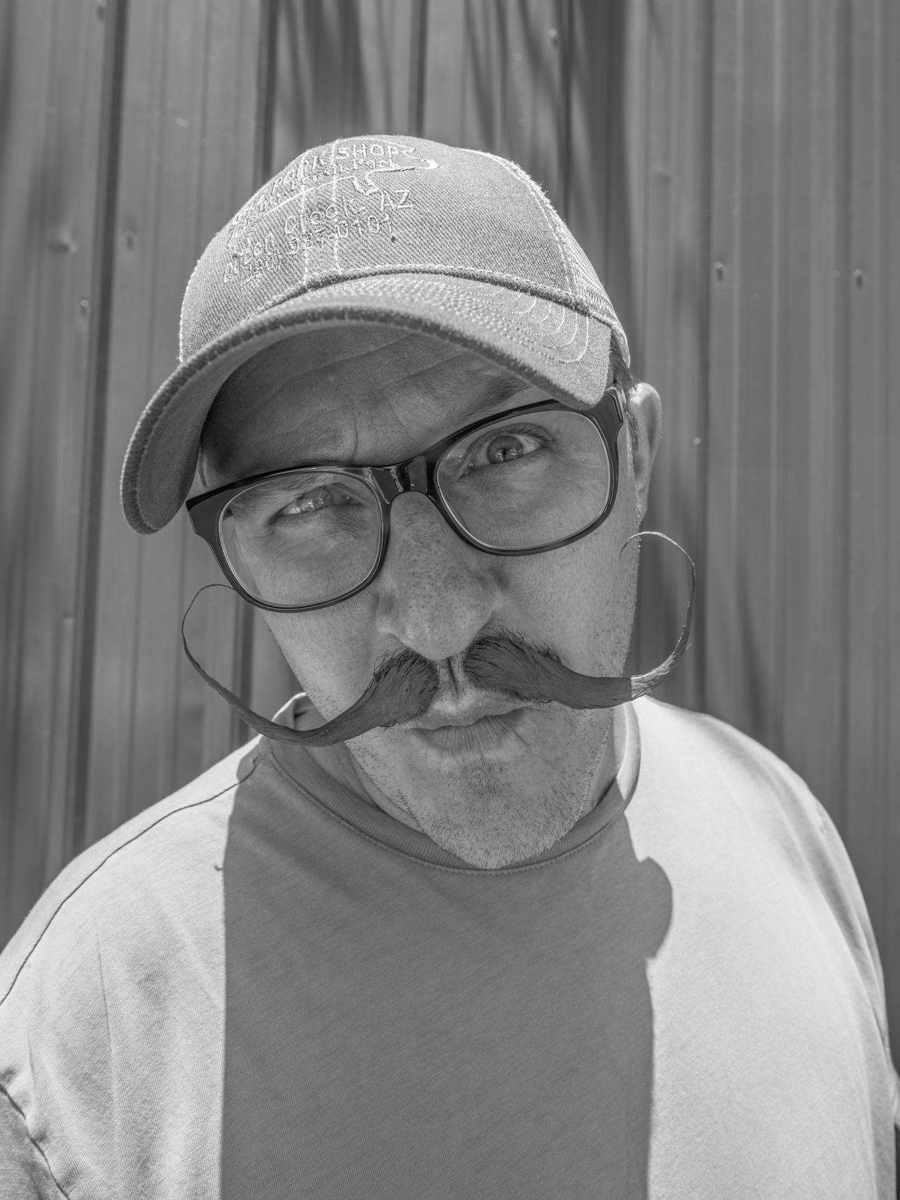 Beautiful stock photos of schnurrbart, eyeglasses, close-up, portrait, headshot