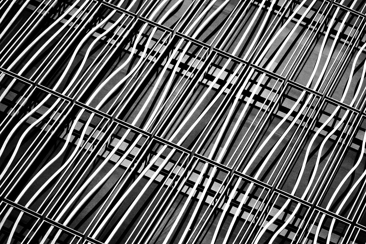 Abstract Architecture Blackandwhite Contrast Façade Low Angle View Metal Pattern The Architect - 2017 EyeEm Awards