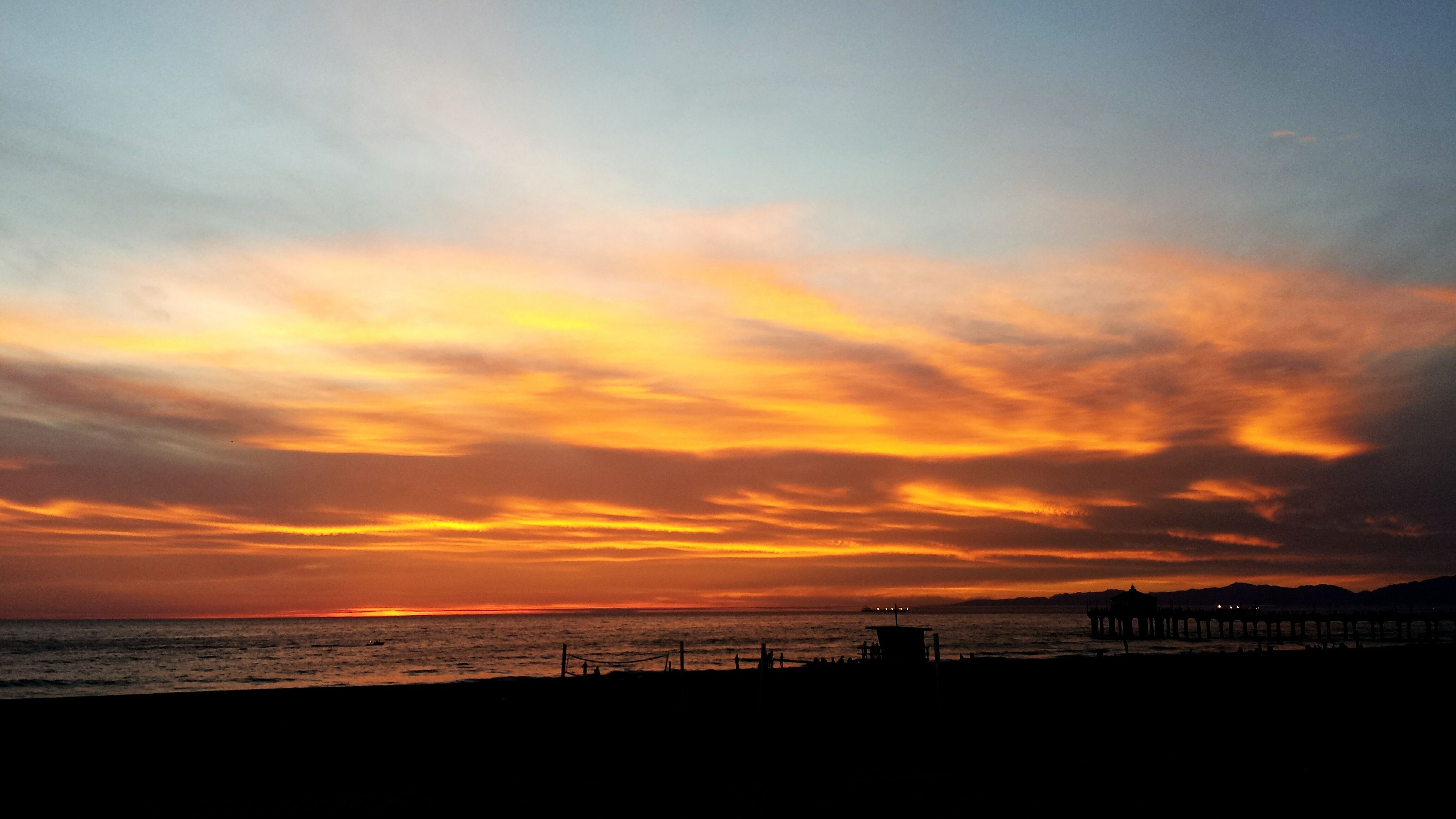 sea, sunset, horizon over water, water, scenics, sky, silhouette, beach, beauty in nature, tranquil scene, tranquility, orange color, idyllic, cloud - sky, shore, nature, incidental people, dramatic sky, cloud, outdoors