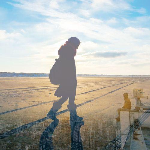 Walking away from troubles 💔 Sky Cloud - Sky One Person Day Bandlab Heartbroken