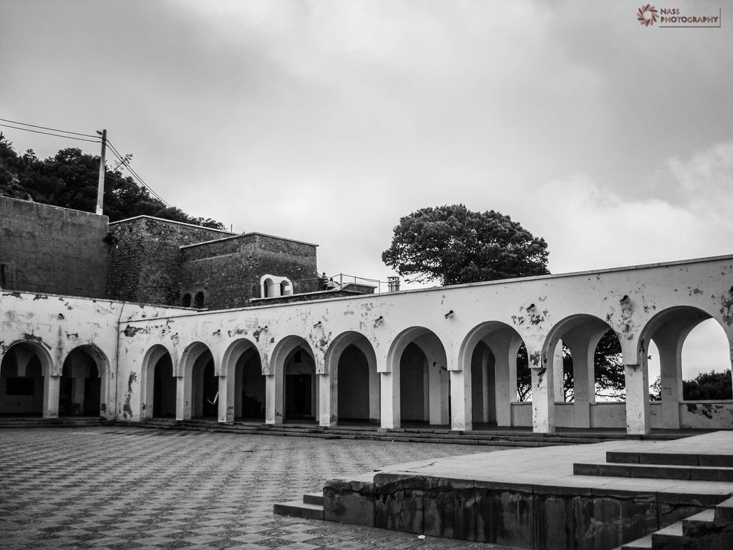 Fort Santa Cruz is one of the three forts in Oran, the second largest port city of Algeria. He was built between 1577 and 1604 by the Spaniards, He is located at a height of about 400 metres on Mount Murdjadjo. Historical Site Architecturelovers B&w Photography Santa Cruz My City Oran  Algeria