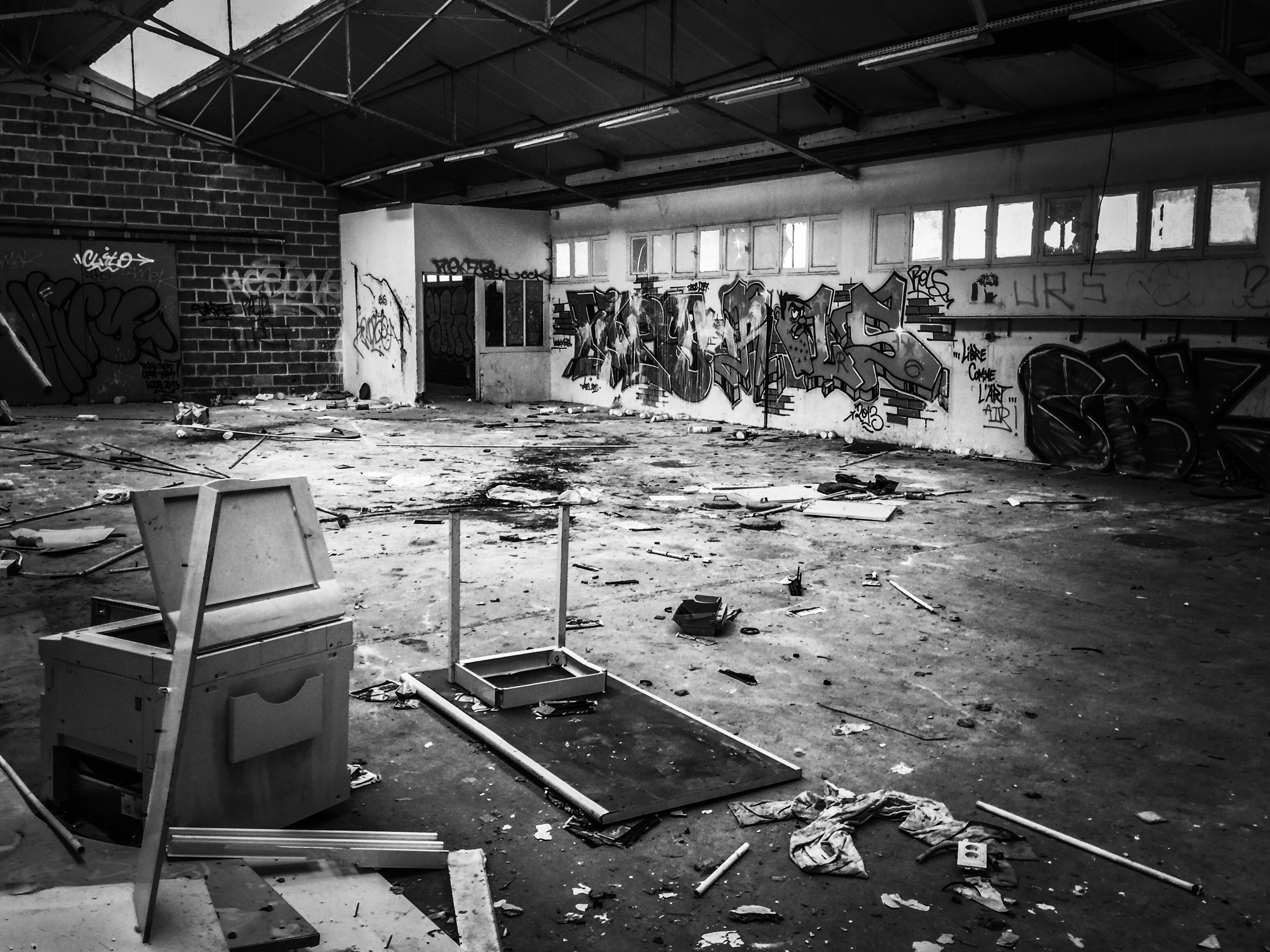 Jail Warehouse Abandoned Indoors  No People Factory Bad Condition Day