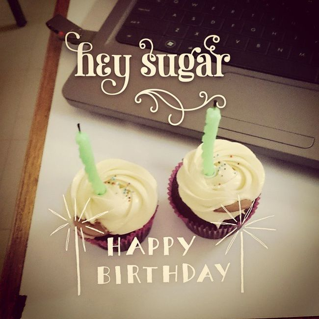 HAPPY AVRIL BIRTHDAY! Aviary Sweetcupcakes Thanksmuch 04162015 Latepost
