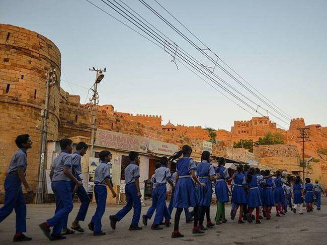 The Golden Fortress of Jaisalmer Jaisalmer Fort SonarKella Golden Rajasthan